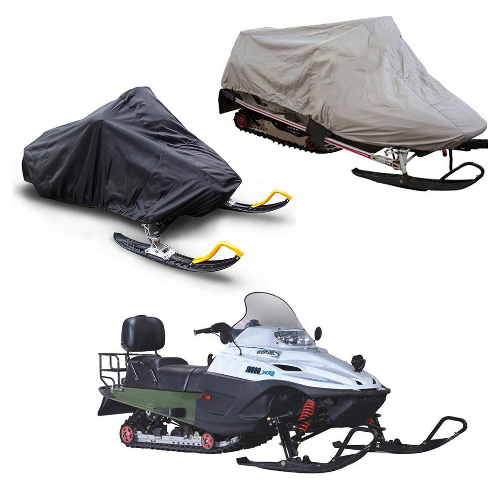 Heavy Duty Outdoor Waterproof Windproof UV Protection Oxford Skiing Snowmobile Cover Fits Snowmobiles