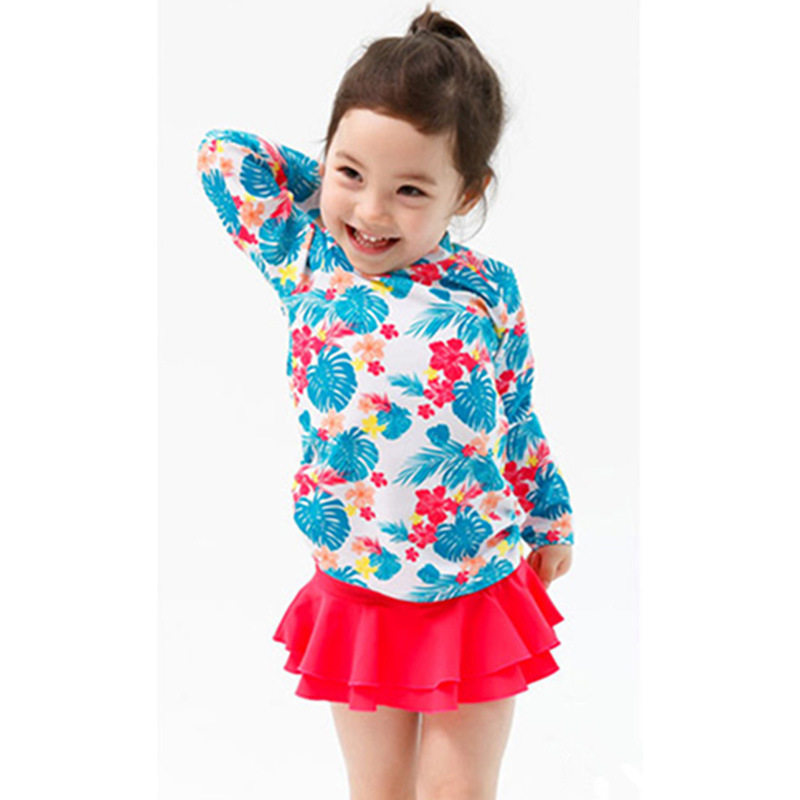 2017 New Style Children Two-piece Swimsuits