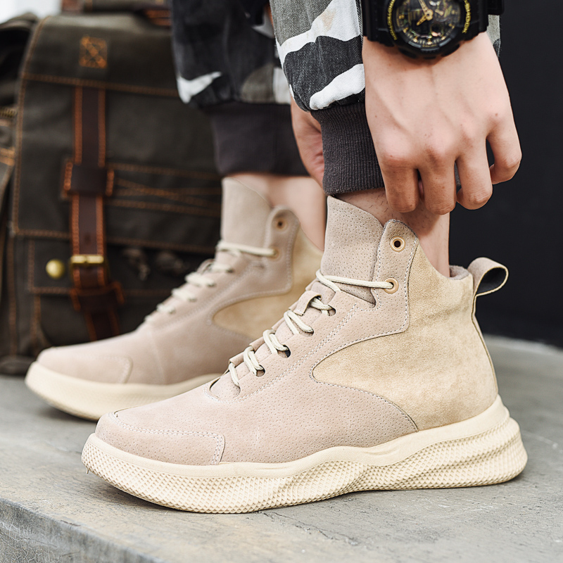 Brand Winter Mens Leather Boots High Quality Waterproof Boots Footwear Comfortable Male Casual Boots Erkek Ayakkabi Sneakers