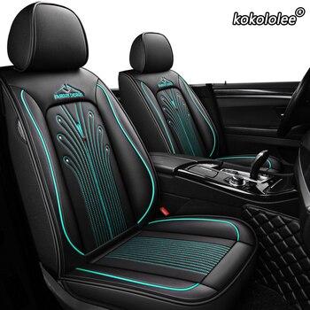 Kokololee Leather car seat cover for opel astra h k j g insignia vectra b meriva vectra c mokka zafira auto фото