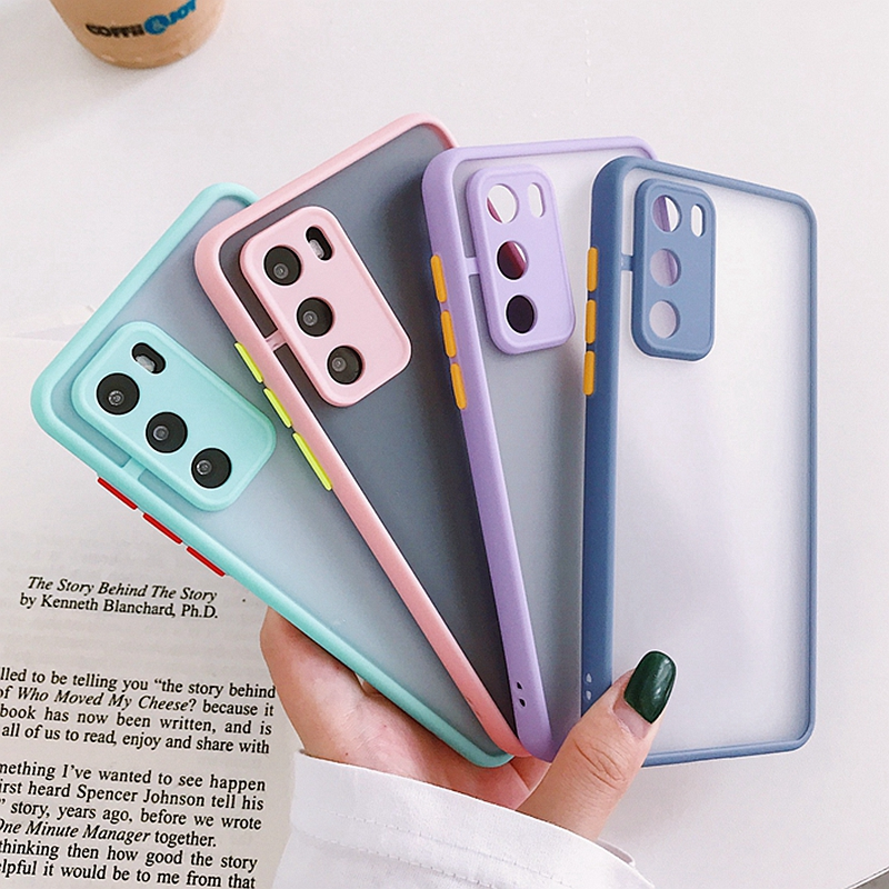 Transparent Case For HUAWEI P20 P30 Lite P40 Pro honor 8X Mate 20 30 40 Pro Nova 5T 9X 9A Y9 Prime 2019 Shockproof Cases Cover(China)