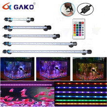 Aquarium LED Bar Light Remote Control Waterproof Fish Tank Light Under