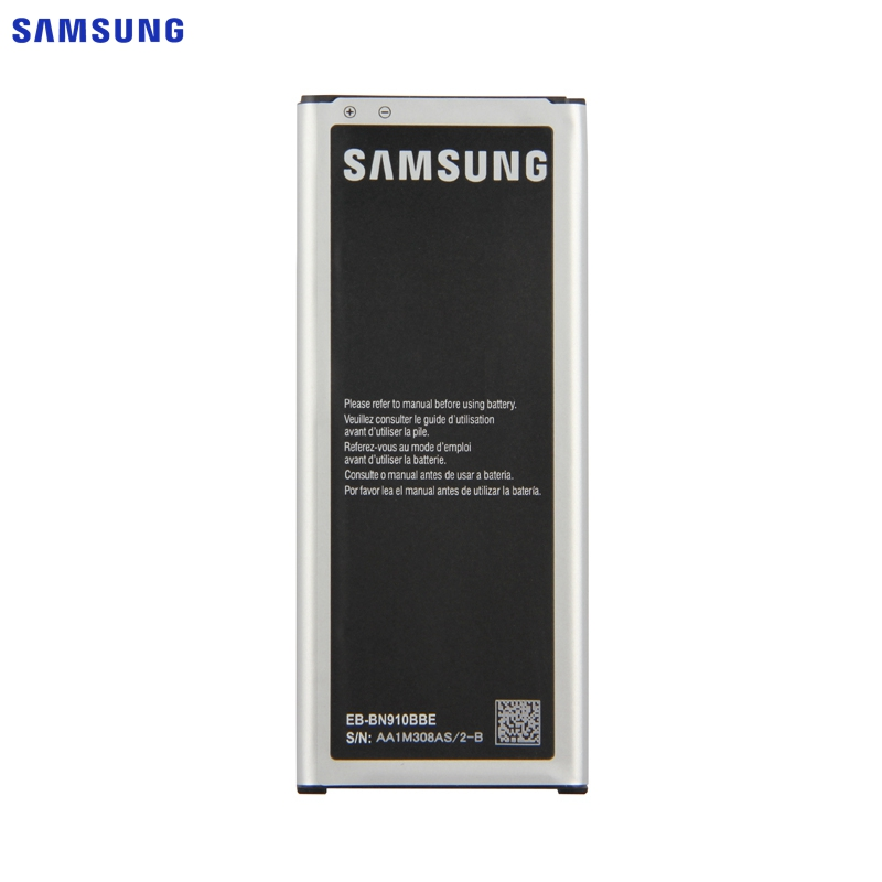 オリジナル交換用バッテリー三星銀河注 4 N910A N910C N910F N910H N910V N910U NOTE4 EB-BN910BBU EB-BN910BBE 3220 mah