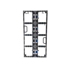 500x1000mm P3.91 및 P4.81die 주조 알루미늄 빈 캐비닛, 250x250mm 모듈, 실내 옥외 led 디스플레이, led 비디오 벽 패널