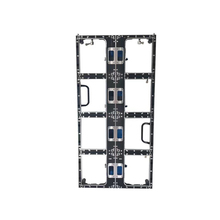500x1000mm P3.91 ו P4.81die ליהוק אלומיניום ארון ריק, 250x250mm מודול, מקורה חיצוני תצוגת led, led וידאו קיר פנל