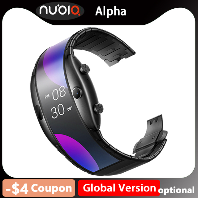 ZTE Nubia alpha Chinese Version wristwatch cellphone Snapdragon 8909W Mobile Phone band Curved surface screen 8GB ROM 5