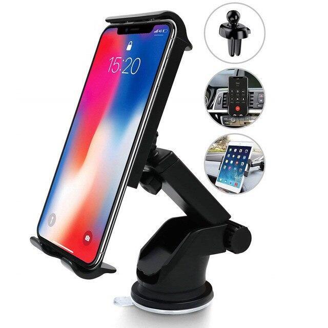 Support pour téléphone portable support de voiture universel support de Console automatique support ventouse support de fixation pour téléphone portable téléphone Telefon Tutucu