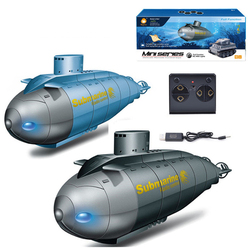 New Happycow 777-586 RC Submarine Model Mini Speed Under Water RC Boats Yacht 6 Channels Pigboat Simulation Gift Toy For Boys