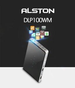 Image 2 - ALSTON DLP100WM جهاز عرض معالجة رقمية للضوء صغير أندرويد متعاطي المخدرات المدمج في واي فاي بلوتوث HDMI دعم 1080P المسرح المحمولة