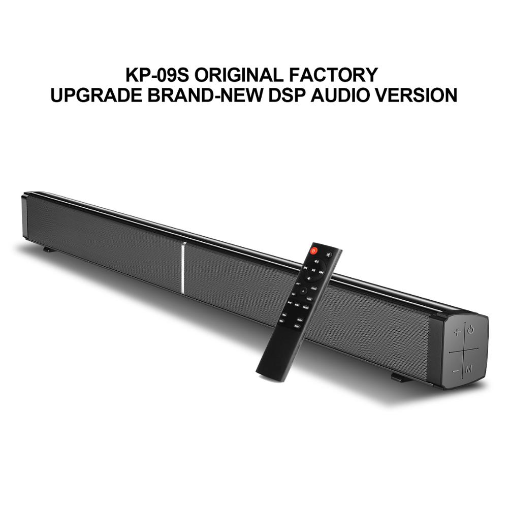 40W barre de son Bluetooth 5.0 Home Surround Audio 192 kHz/24Bit HiFi sans perte DAC barre de son DSP pour haut-parleur de télévision de théâtre de PC