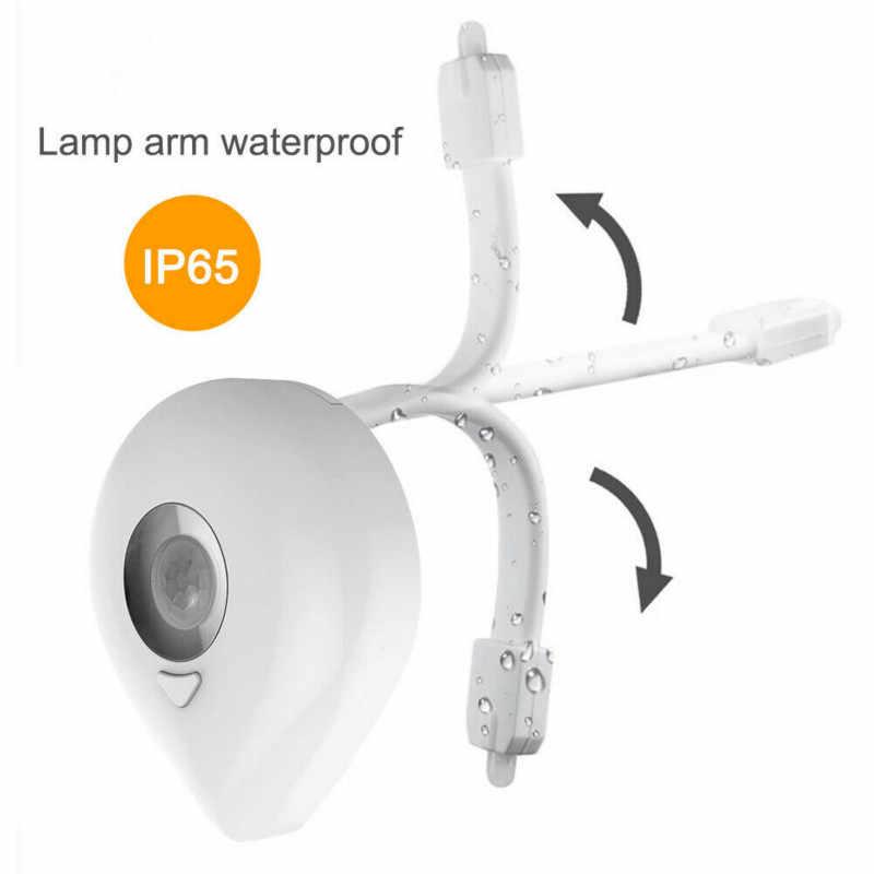 Ночной светильник для унитаза, умный сенсорный Ночной светильник для унитаза, 8 цветов, водонепроницаемая подсветка для унитаза, светодиодный светильник для унитаза