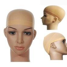 Синтетические волосы на кружеве парики из натуральных волос для Blakck Для женщин человеческие волосы 2 шт./упак. парик Кепки сетка для волос дл...