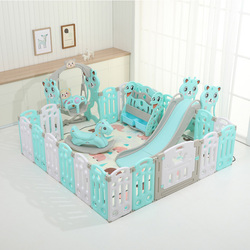 Childrens play fence folding baby toddler fence safety fence indoor home fence EP Safety Play Yard Outdoor