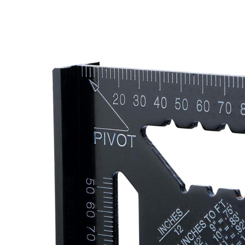 Image 5 - 12inch Triangle Ruler Carpenter's Squad Svenson Metric Square Carpenter Tools Woodworking Square Layout Gauge Measurement Tool-in Gauges from Tools