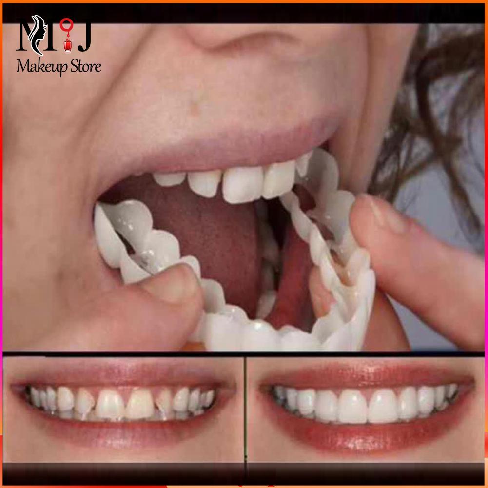 1 шт. зубной ортодонтический брекет многоразовые имитация верхней зубной протез прибор для тренировок Капы инструмент Магия Smile Training