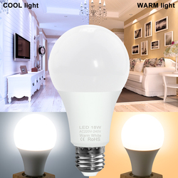 Spotlight E27 LED Lamp LED Bulb E14 Bombilla 220V LED Bulb Light 3W 6W 9W 12W 15W 18W 20W 240V Lampada Indoor Lighting 2835SMD