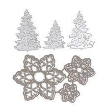 6 Pcs Scrapbooking Die Cutting Embossing Mesin Embossing Dies Stensil untuk Sizzix Big Shot / Cuttlebug, G & A(China)