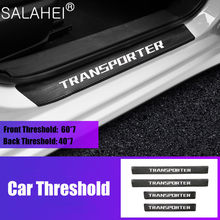 Venda quente etiqueta do carro protetor do peitoril da porta adesivo placa limiar da porta etiqueta acessórios do carro com transportador t40 emblema do carro