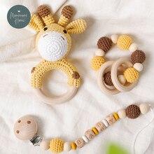 1 Набор детских игрушек вязаный крючком амигуруми слон Сова