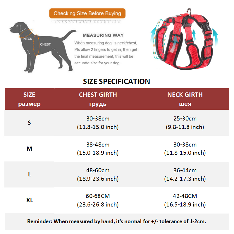 Dog Harness Vest (30)