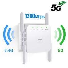 5G Wifi Repeater Ultraboost Signal-Amplifier 5ghz Long-Range 300/1200mbps Wireless