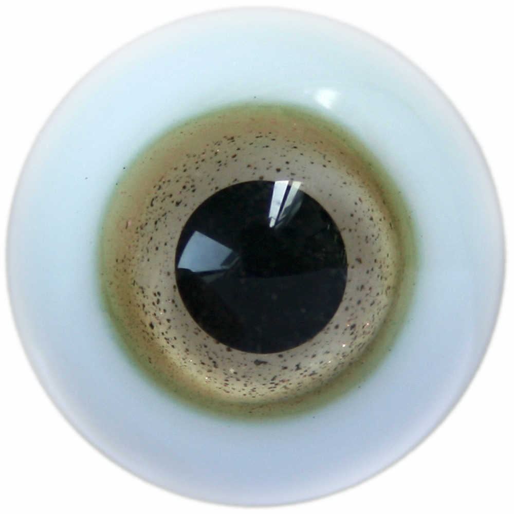 [wamami] 8mm 10mm 12mm 14mm 16mm 18mm 20mm 22mm Light Brown Eyes Glass Eyes Outfit For BJD Doll Dollfie