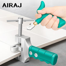 AIRAJ 2021 de alta resistencia de vidrio cortador de azulejos de Multi-función de abrelatas portátil casa cortador de vidrio de diamante corte manual herramientas