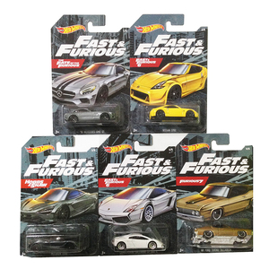 Hot Wheels 1/64 Fast Furious And Diecast Car NISSAN 370Z McLAREN 720S Collector Edition Metal Alloy Car
