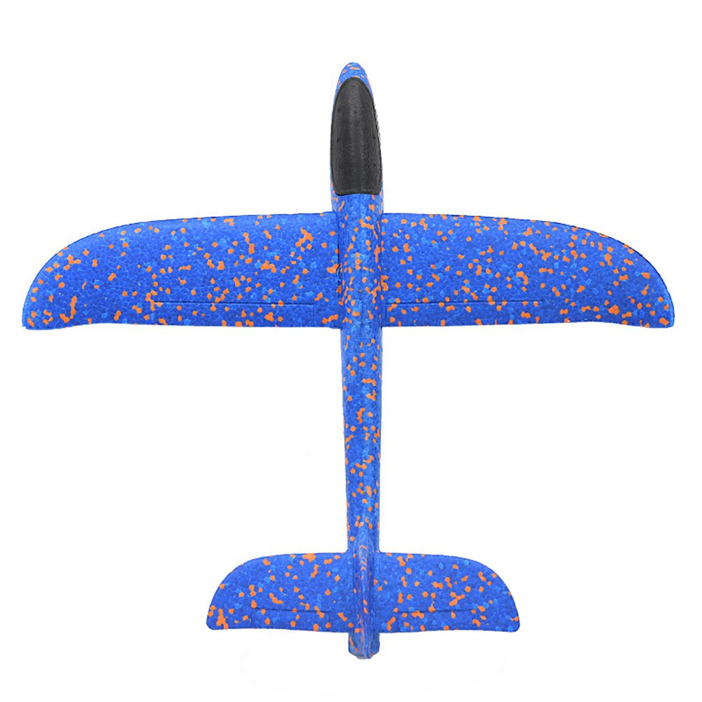 Hand Throw Flying Glider Planes Foam Aircraft <font><b>Model</b></font> EPP Resistant Breakout Aircraft Party Game Children Outdoor Fun Gift Toys image