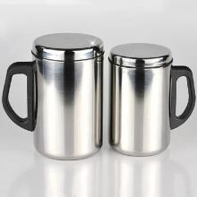 350/500 мл кружки из нержавеющей стали двойной стены тепловой изолированный переносной тумблер кофе пивная кружка чайная кружка чашка посуда для напитков