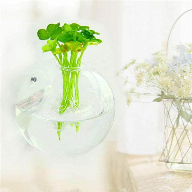 New Garden Supplies Home Hanging Glass Ball Vase Flower Planter Pots Terrarium Container Home Garden Decoration 3 Size 4