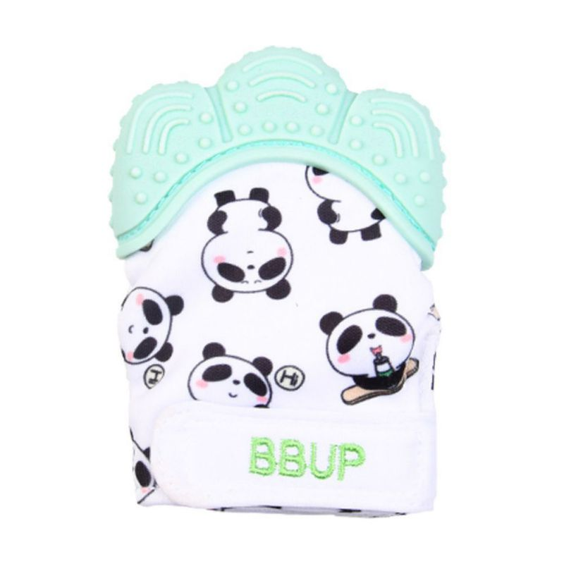 Hot Sale Toddler Toys Pcs Food Grade Silicone Teethersnfant Teething Gloves Anti-bite Hand New-arrival  Baby Molar Gloves A Xs