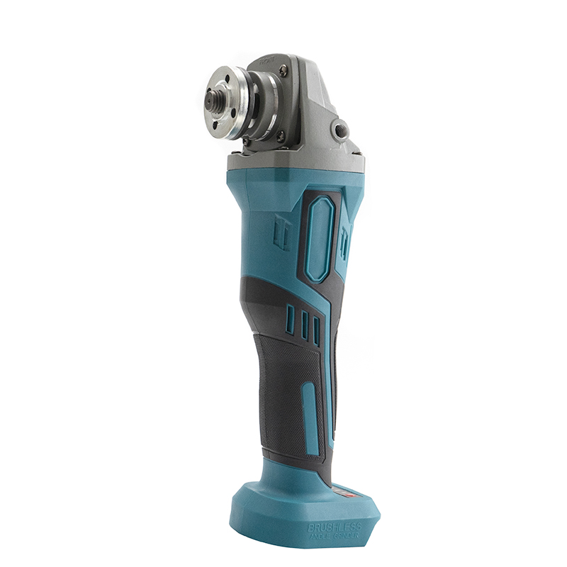 Tools : For Makita 18V 125mm Brushless Cordless Impact Angle Grinder DIY Power Tools Electric Polishing Grinding Machine Without Battery