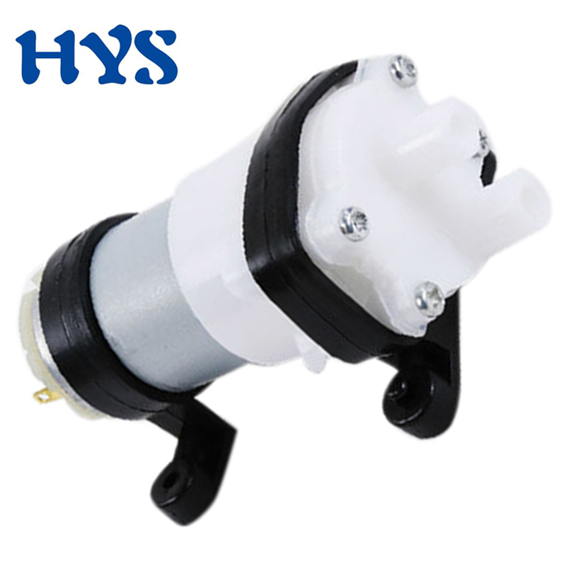 HYS DC Water Pomp 6V - 12V Diaphragm Pump Vacuum 12 V Volt Spray Electric Pumps For Drinking DIY Hydraulic Miniature KLC