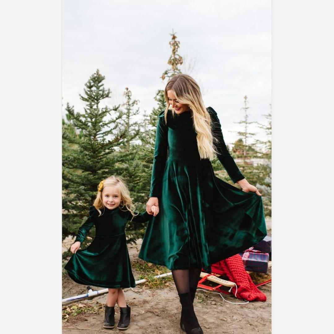 Image 4 - 3XL облегающее женское бархатное платье, модное осенне зимнее платье, повседневное ТРАПЕЦИЕВИДНОЕ ПЛАТЬЕ средней длины с круглым воротником и длинным рукавом, элегантные платья Vestidos-in Платья from Женская одежда on AliExpress