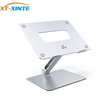 Laptop Stand Adjustable Angle & Height Aluminum Alloy Desktop Base 295*217*40mm Tablet PC Foldable Holder for Macbook Pro iPad