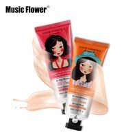 50ml Music Flower Brand Makeup BB&CC Cream Face Base Make Up Liquid Foundation Concealer Pores Moisturizer Brighten Cosmetics