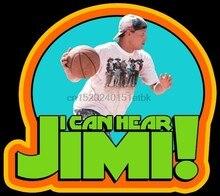 Classique homme blanc de la série 90, impossible de sauter, je peux entendre Jimi! T-shirt personnalisé de toutes tailles