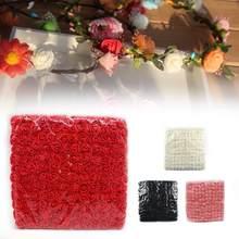 2.5 Cm 144 Stks Pe Foam Rose Kunstmatige Bloem Boeket Rose Valentijnsdag Multicolor Bloem Bruiloft M1Y6