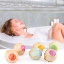 6 pcs Natural Bath Bombs Bubble Bath products Essential Oil