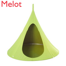 Children adult camp tree biter, worm silk rocking hull hanging inside chair to free net tent