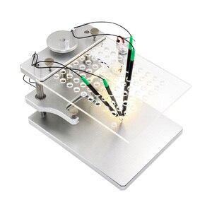 Image 2 - โลหะBDMกรอบสแตนเลสสตีลชุดLED BDMกรอบอลูมิเนียม22Pcsอะแดปเตอร์2 IN 1 4Pcs probeสำหรับKTAG KESS FGTECH