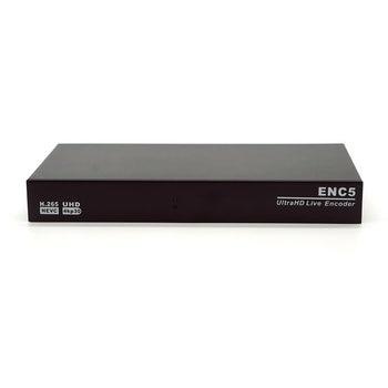 5xHDMI SRT Encoder to ip H.265 IPTV rtmp Encoder YouTube  1080p 4K/30 x 5 MPEG4 RTSP HLS RTMPS Live Stream WOWZA Facebook Live