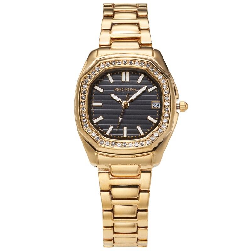 Женские часы, женские модные часы, 2019, женские часы, роскошный бренд, бриллиантовый кварц, золото, серебро, наручные часы, подарки для женщин
