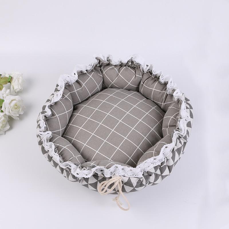 Pet Dog Nest flower Bud Nest Pumpkin Nest Small Dog Kennel Cat Nest Pet Mat Sleep Nest For Cat Teddy Chihuahua Bed 11