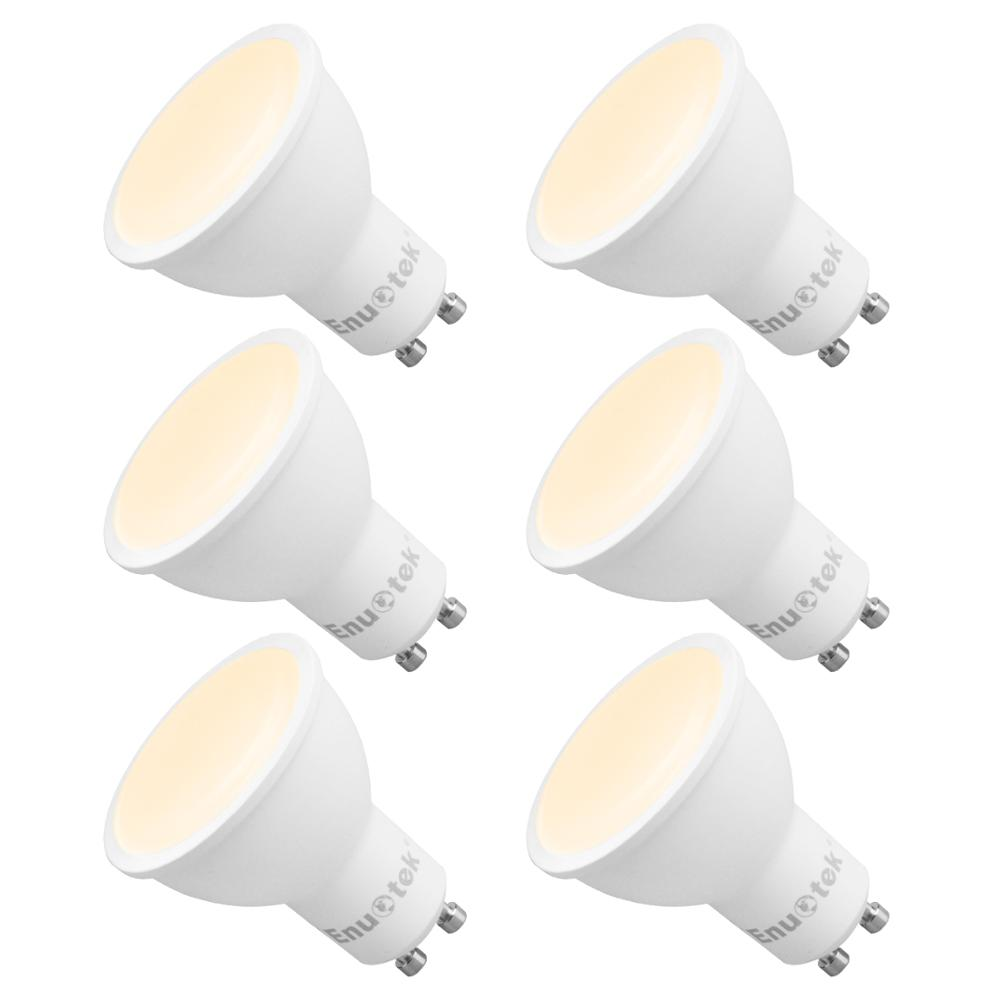 GU10 LED Dimmable Spotlights LED Spot Light Bulbs 7W 120° Wide Lighting Angle Warm White 3000K AC220~240V Trailing Edge Dimmable