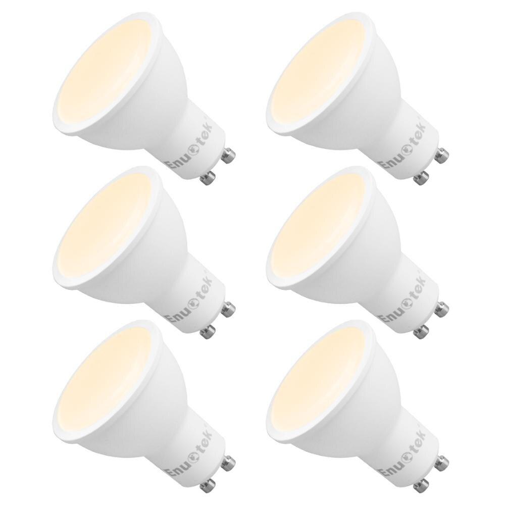 GU10 LED Dimmable Spotlights LED Spot Light Bulbs 7W 120° Wide Lighting Angle Warm White 3000K AC220~240V Trailing Edge Dimmable