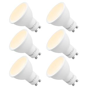 Image 1 - GU10 LED Dimmable Spotlights LED Spot Light Bulbs 7W 120° Wide Lighting Angle Warm White 3000K AC220~240V Trailing Edge Dimmable