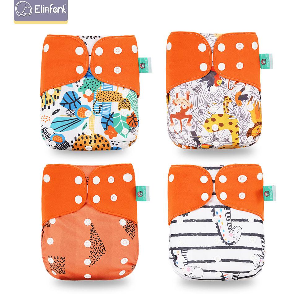 Cute Adjustable Breathable Washable Cloth Reusable Baby Diaper Pocket Nappy