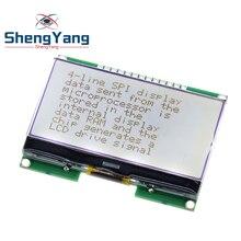 ShengYang 1 stücke Lcd12864 12864-06D, 12864, LCD modul, COG, mit Chinesischen schrift, dot matrix bildschirm, spi-schnittstelle